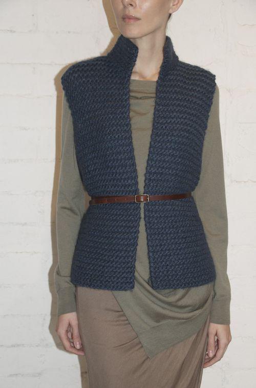Soyer knit vest