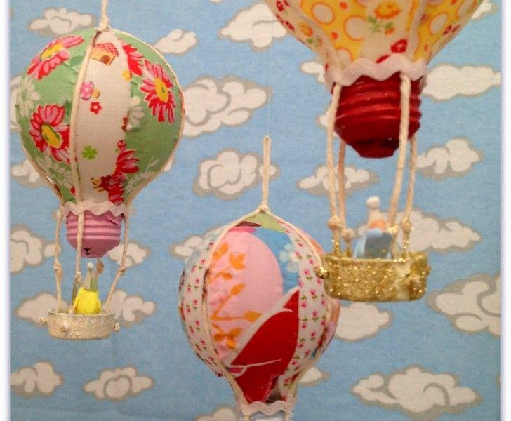 Luftballong av glödlampa