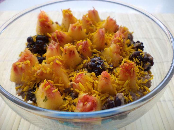 Budinca De Ovaz Cu Dulceata De Mure / Oat Pudding With Blackberry Jam https://vegansavor.wordpress.com/2015/08/01/budinca-de-ovaz-cu-dulceata-de-mure-oat-pudding-with-blackberry-jam/ #Topoloveni #blackberry #jam #oat #pudding #peach #Indonesian #spices #vegan #sweets
