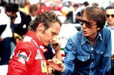 Niki Lauda and Luca Di Montezemolo German Grand Prix, Nurburgring, 3 August 1975