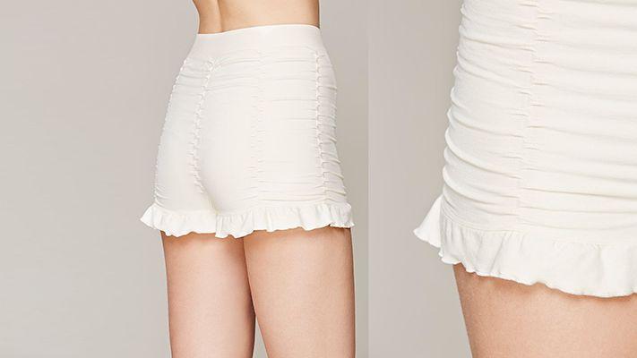 Ruched Seamless Shorts | Znaffle