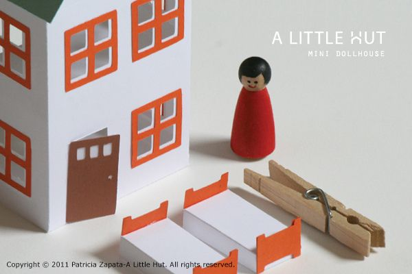 printable paper dollhouse: Paper Dolls, Paper Dollhouses, Dollhouses Tutorials, Minis Dollhouses, Free Printable, Dolls House, Doll Houses, Paper House, Kid