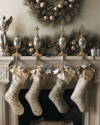 the decorated mantle