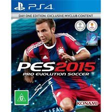 PES Pro Evolution Soccer 2015 PS4 *NEW & SEALED*