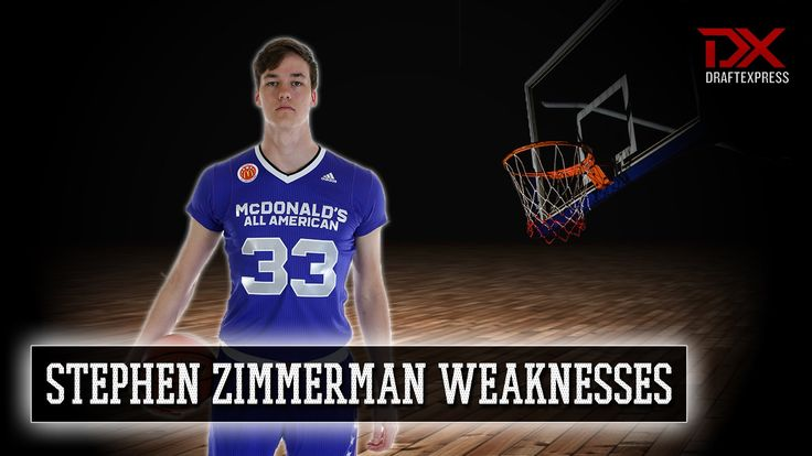 Stephen Zimmerman 2015-16 Preseason Scouting Video - Weaknesses