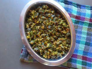 AISHU KITCHEN: Lady's finger Curry (Vendaikai curry)