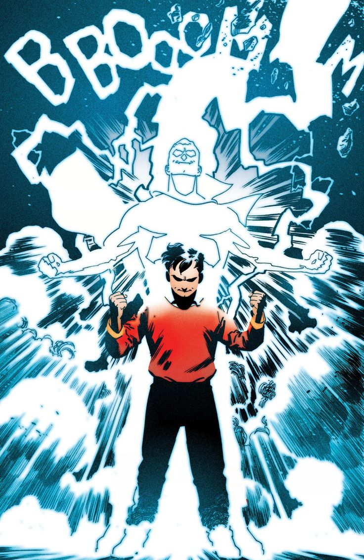 """Convergence - Shazam #1 by Evan """"Doc"""" Shaner, colours by Jordie Bellaire *"""