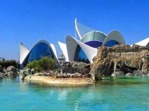 Океанографический парк, Валенсия, Испания
