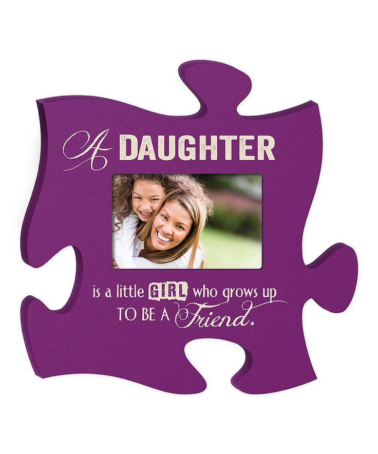 P Graham Dunn Daughter Puzzle Piece Frame Photos