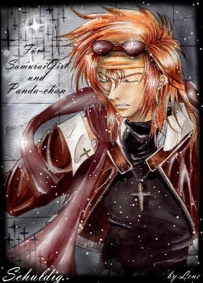 Drawn by Christmas-chan ...  schuldig, weiss kreuz