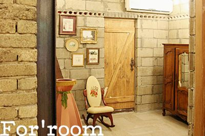 London & French style antique studio by For'room. South Korea.