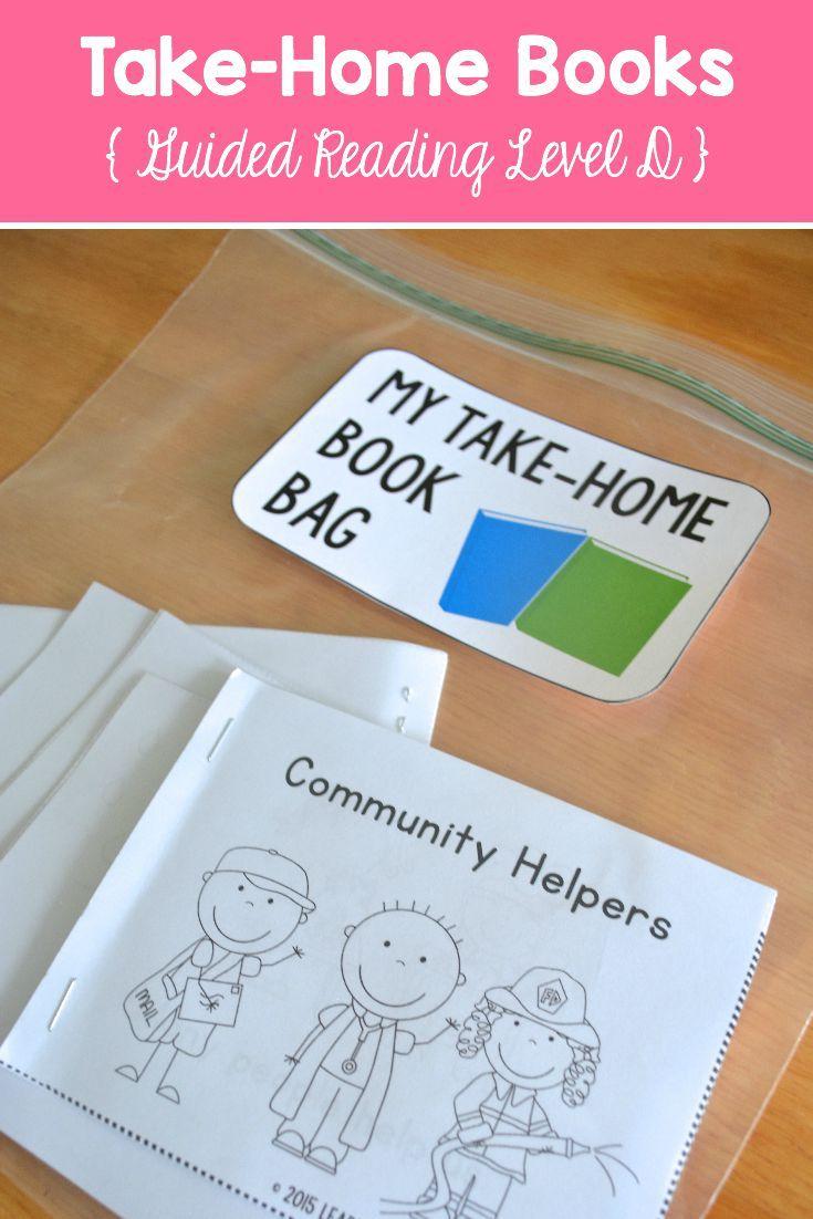Take Home Books For Kindergarten First Grade Readers At Guided Reading Lvl D Kindergarten Books Guided Reading Guided Reading Kindergarten Guided reading lesson grade video