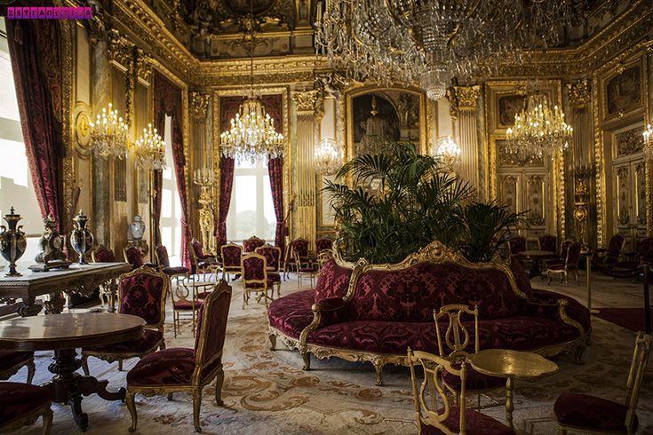 Todo o luxo do apartamento de Napoleão, que fica dentro do Museu do Louvre. Veja nosso roteiro completo de 6 dias em Paris. Mostramos as principais atrações, onde ir, o que comer e dicas para economizar!