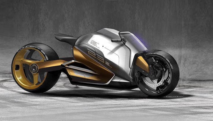 Electric superbike on Behance