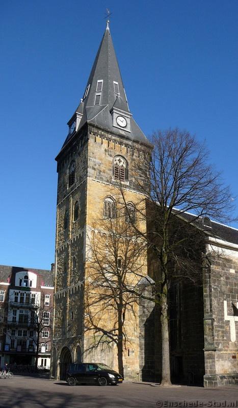 Oude Markt - Grote Kerk (2008-02-15)