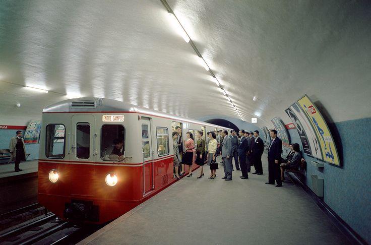 Lisbon Metro at the 60's