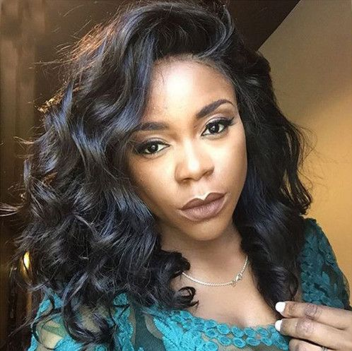 "14"" Wavy Wigs Lace Front Wigs 100% Human Hair Wigs The Same As The Hairstyle In The Picture - Human Hair Wigs For Black Women"