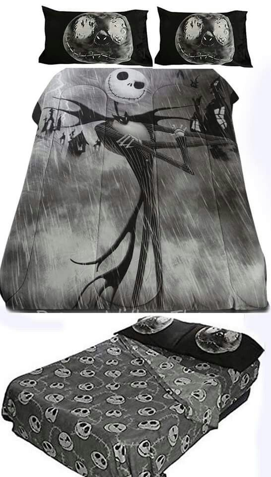 Nightmare Before Christmas Bedding Set Queen