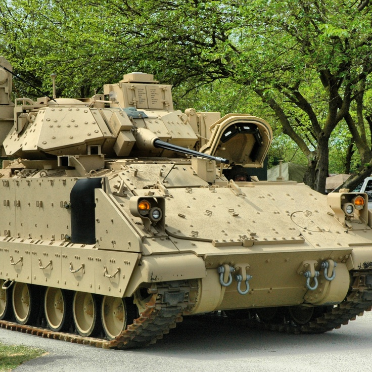 M2A3 Bradley Infantry Fighting Vehicle.
