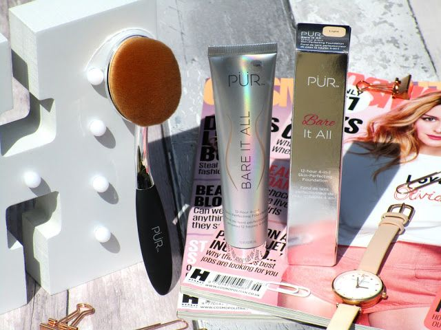 NEW POST: PUR Bare It All Foundation Review