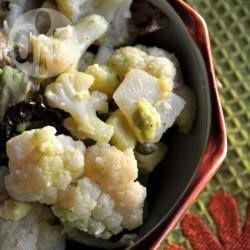 Cavolfiore alla fanese semplice e con avocado