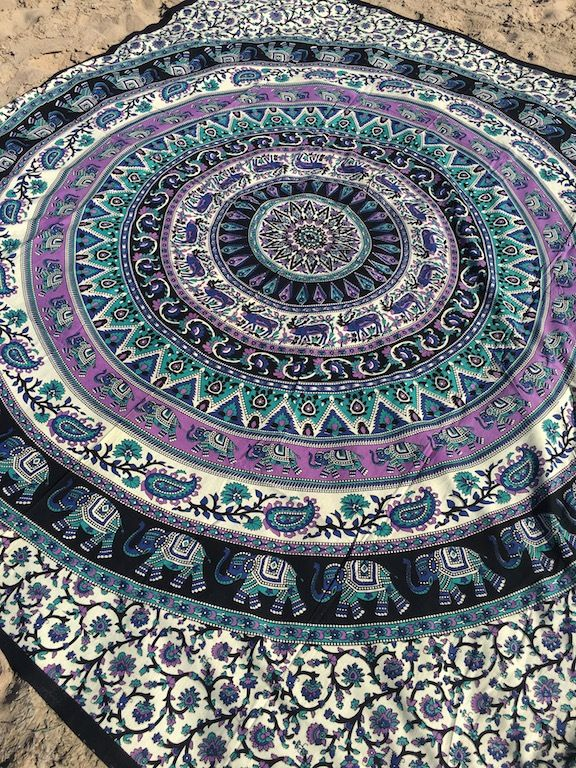 ☾❂☽  Misty Life Mandala ☾❂☽ www.thirteenblessings.bigcartel.com