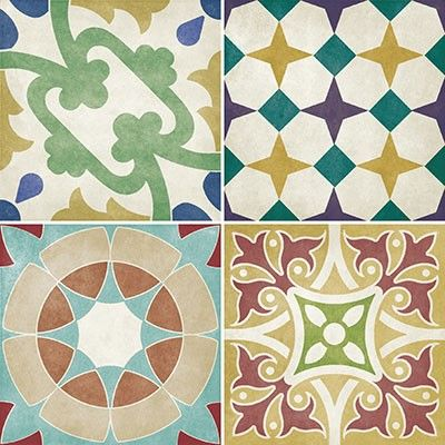 Bathstore Hoxton Coloured Decor Tiles - 142x142mm at TILEDEALER