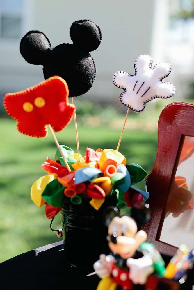 Mickey Mouse Birthday Party Ideas | Photo 7 of 78 | Catch My Party