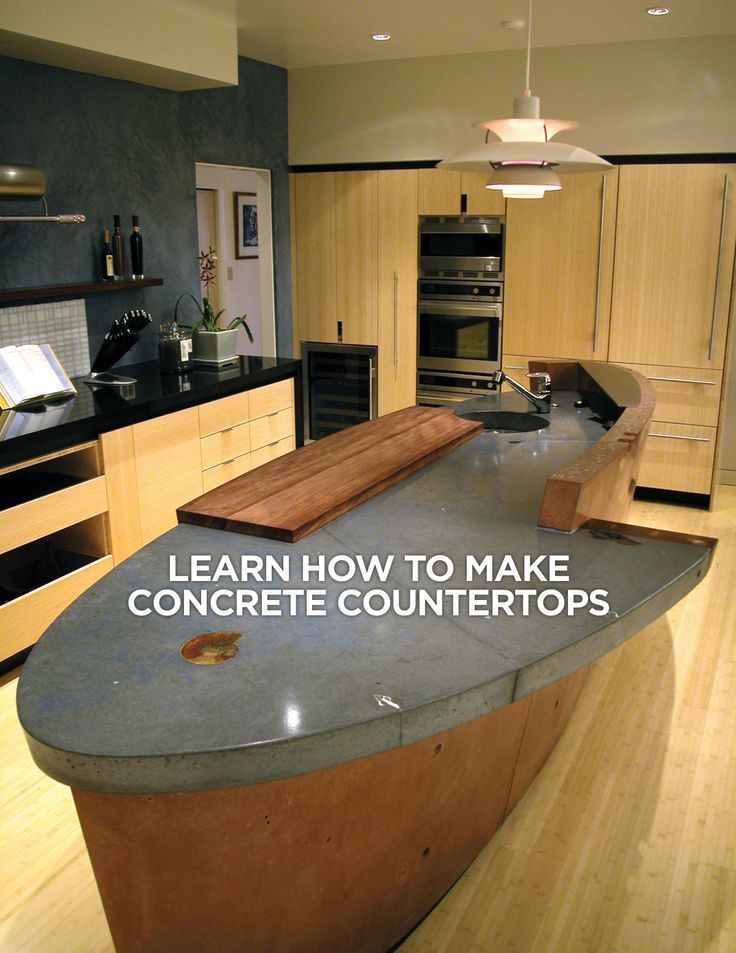 77 Best Concrete Countertops Kitchen Islands And Bar