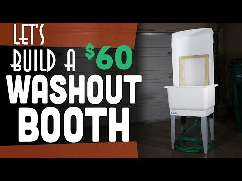 How to Build A Washout Booth | Start Screen Printing Now