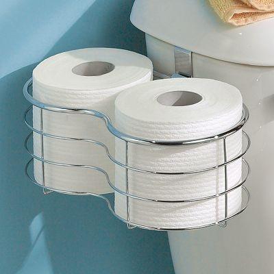interDesign® Metal Tissue Basket