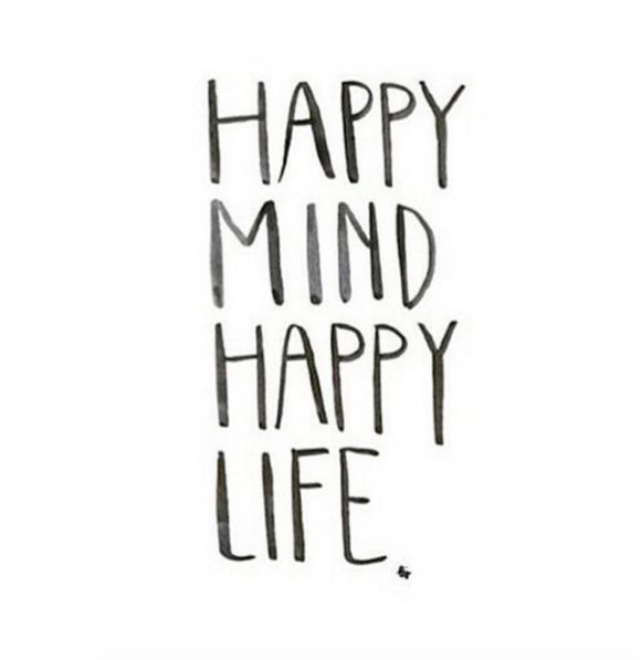 Positive Quotes  25 Happy Life Quotes for 2016  QuoteBurd  Positive Quotes n Description Happy mind happy life.