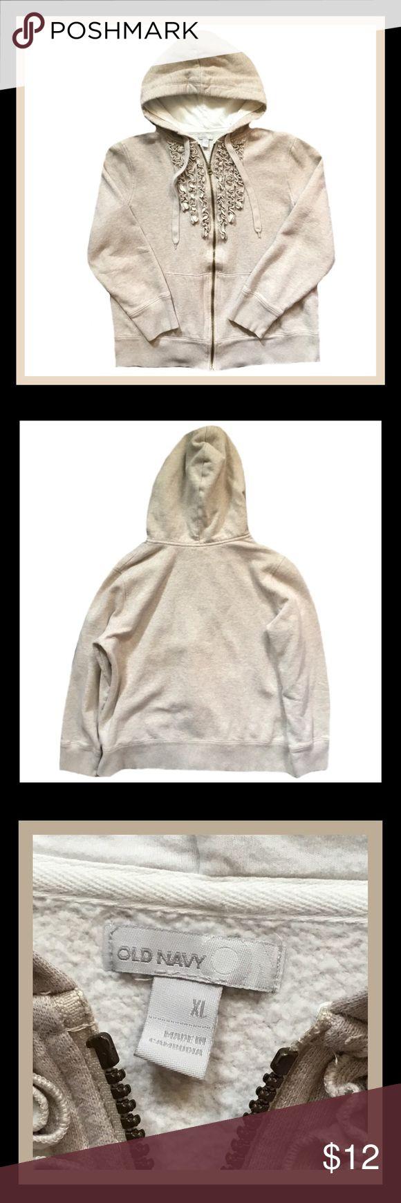 ‼️20% OFF ALL BUNDLES‼️OLD NAVY  Zip Up Hoodie 🔲Gently used OLD NAVY long sleeve zip up hoodie.                                                        🔲Size XL.                                                                                                    🔲Bundle And Save Old Navy Tops Sweatshirts & Hoodies