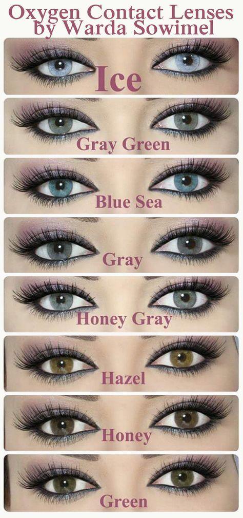 Oxygen Contact Lenses by Warda Sowimel ☞ Info in bio; https://instagram.com/warda_sowimel/ Colors; 1. Ice 2. Gray Green 3. Blue Sea 4. Gray 5. Honey Gray 6. Hazel 7. Honey 8. Green #eye #color #contacts Light Blue Gray / Green Gray / Blue / Gray / Light Green Gray / Hazel / Honey / Green Colored Contacts ☞ Warda Sowimel Twitter https://twitter.com/warda2y