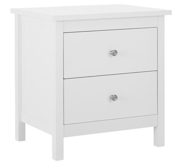 Bedside tables replace knobs with black bedroom for Buy white bedside table