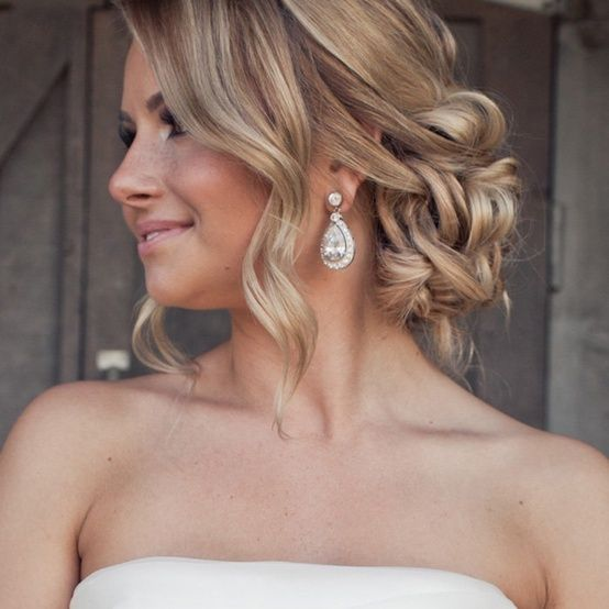 Romantic Updo - love...then again, I love this too!