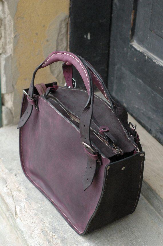 Leather Statement Clutch - Hielo! leather by VIDA VIDA wLbCakk