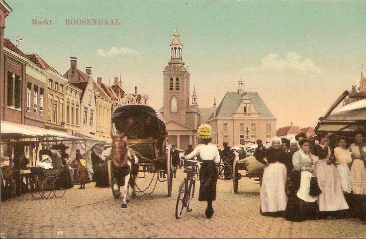Roosendaal ligt ten westen van Etten-Leur.