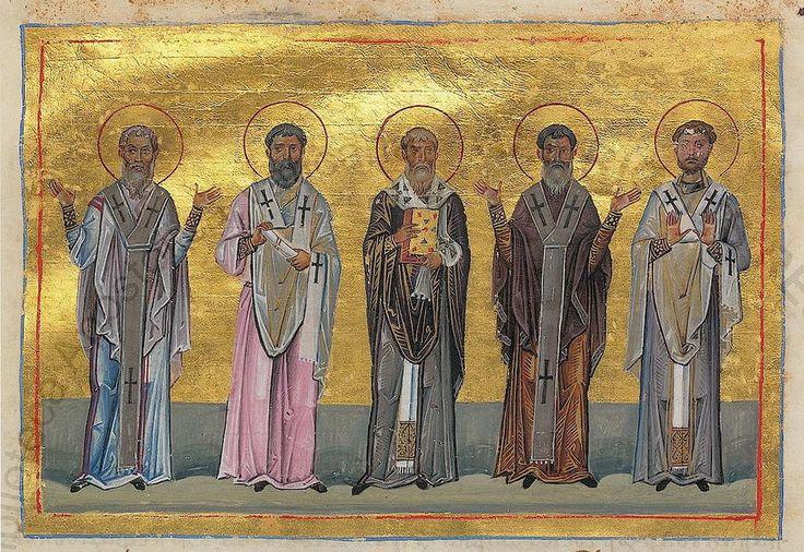 (2) LINUS: Patrobulus, Hermas, Linus, Caius, Philologus of 70 disciples (Menologion of Basil II)