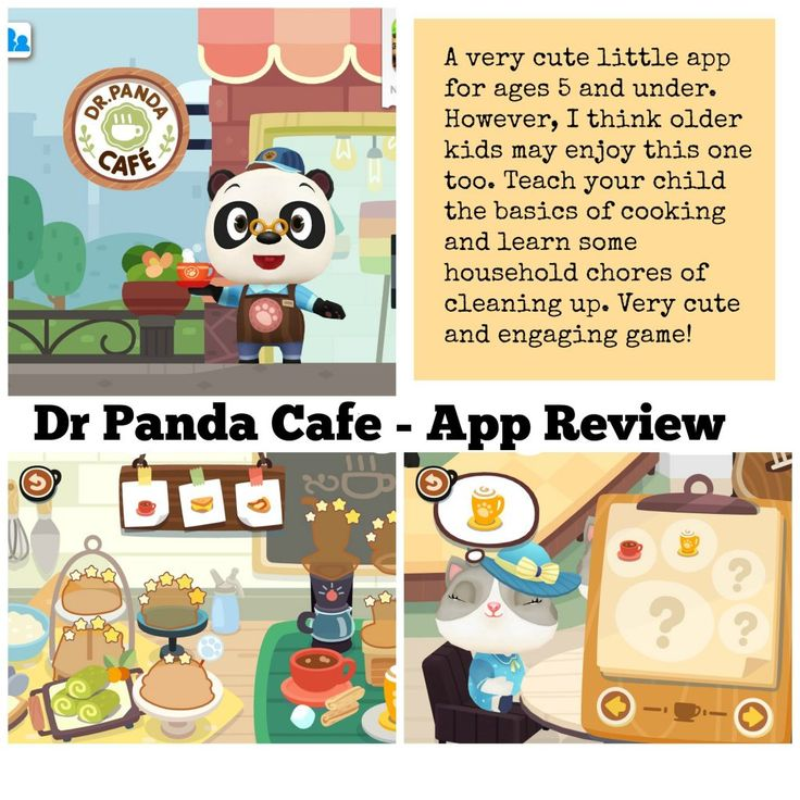 Dr Panda's Cafe – App Review - Very cute app for kids. They learn while they have fun! #EdApps #KidsApps #DrPanda #iPad