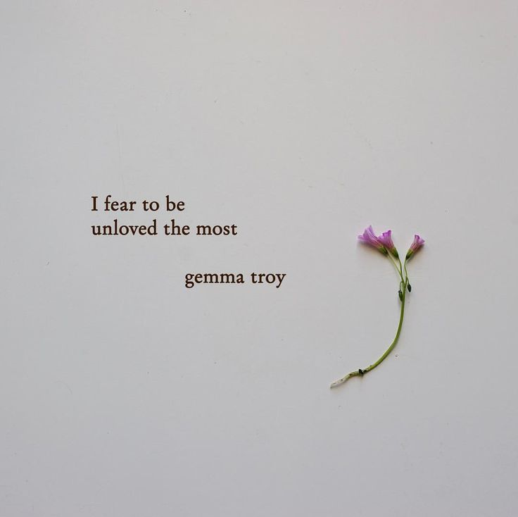 """2,590 Likes, 27 Comments - Gemma Troy Poetry (@gemmatroypoetry) on Instagram: """"What I have found within the confines of my own loneliness, is that I fear to be unloved the most.…"""""""