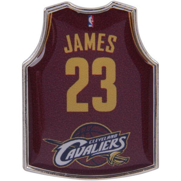 LeBron James Cleveland Cavaliers Road Player Jersey Pin