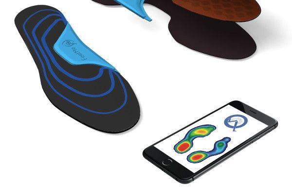 FeetMe est une semelle orthopédique connectée qui mesure à l'aide de plusieurs…