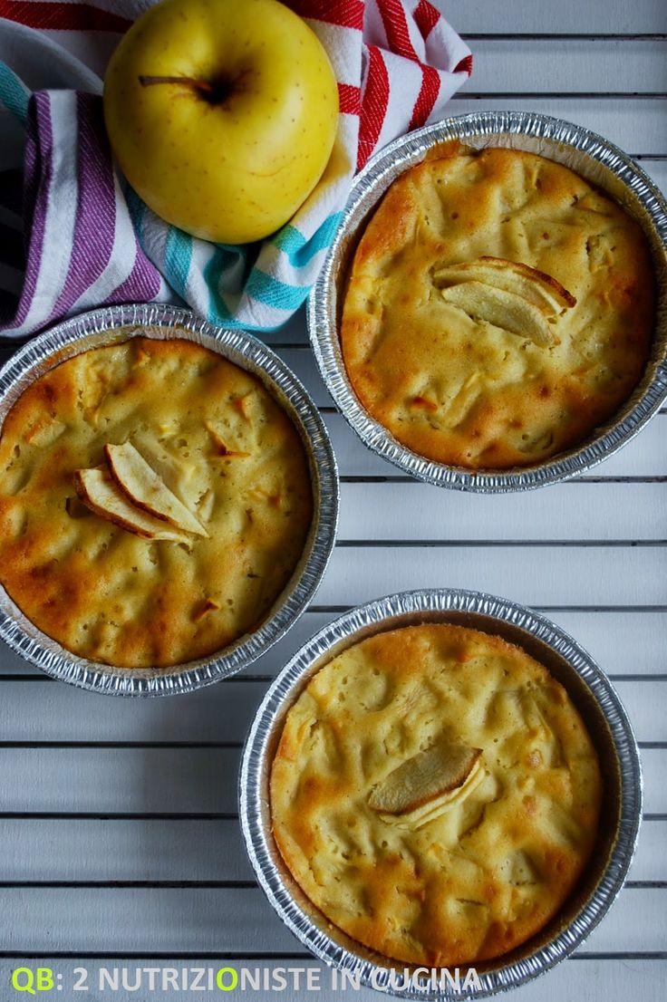 Q B Le ricette light: Tortine di kamut alle mele senza latte