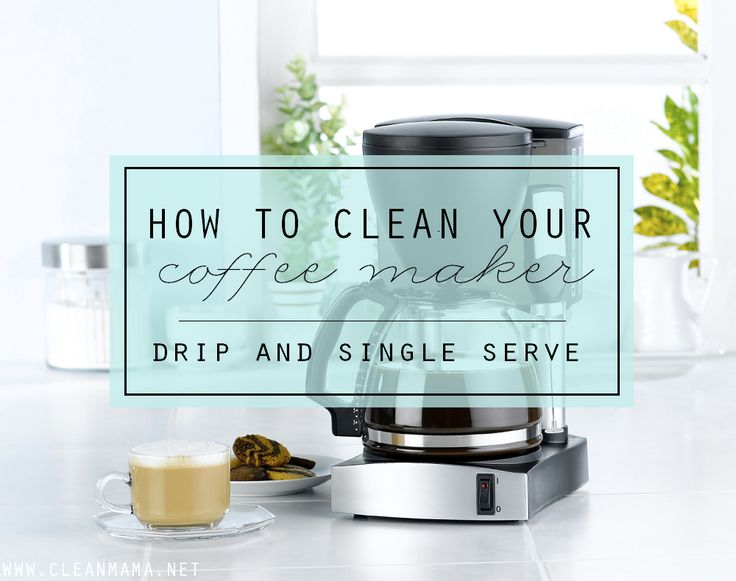 Slow brewing coffee? One ingredient is all it takes to clean your coffeemaker!