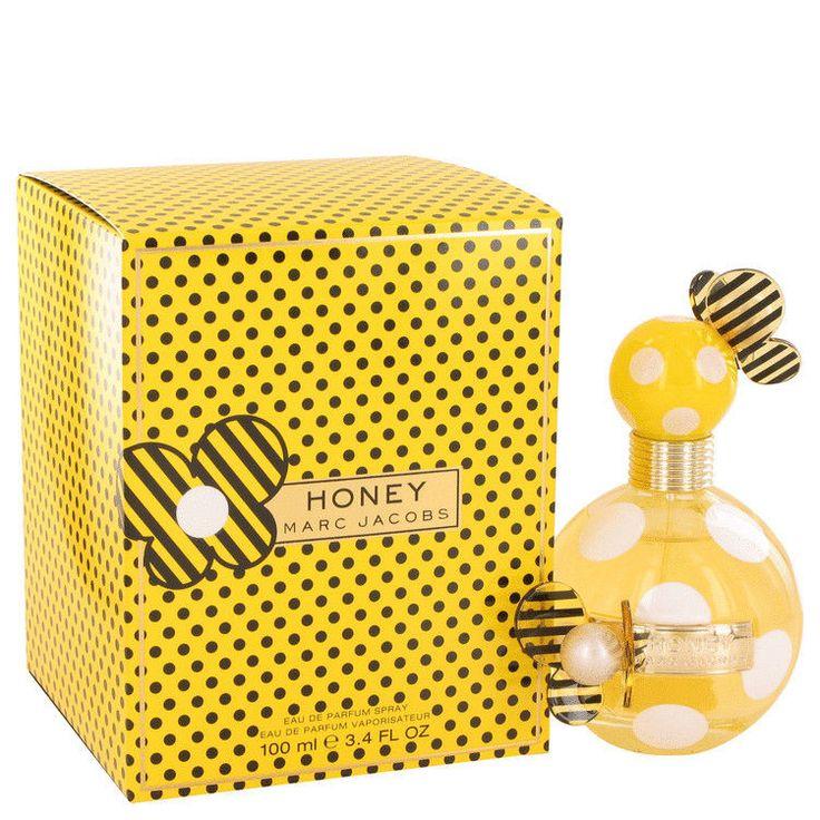 MARC JACOBS HONEY LADIES Perfume - Eau De Parfum Spray 3.4 OZ #MarcJacobs  #overstockperfumes #perfumediscounts #freeshipping #scentsandsensibility