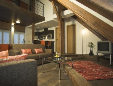 Check our penthouse apartment at Residence Rybna!