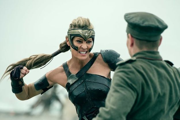 "This Is For Everyone Who's Obsessed With Robin Wright In ""Wonder Woman"""