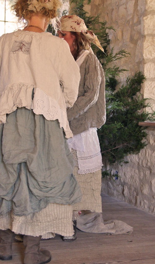 more magnolia pearl....linen worth wearing...all wrinkly....