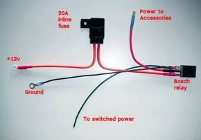 How to Wire a Relay for Auto Accessories